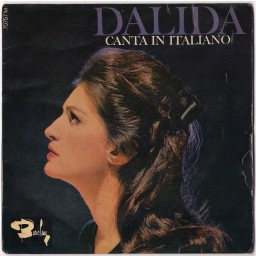 DALIDA CANTA IN ITALIANO (AUTOGRAFADO)