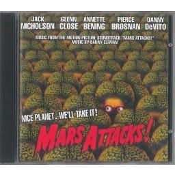 MARS ATTACKS! (TIM BURTON-OST)