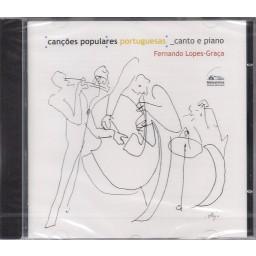 CANÇÕES POPULARES PORTUGUESAS - CANTO E PIANO (SELADO)
