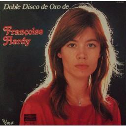 FRANÇOISE HARDY DOBLE DISCO DE ORO