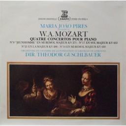 MOZART - QUATRE CONCERTOS POUR PIANO