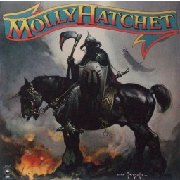 MOLLY HATCHET (FRANK FRAZETTA ART COVER)