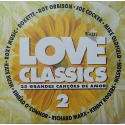 LOVE CLASSICS 2 (25 CANÇÕES DE AMOR)