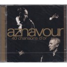 AZNAVOUR - 40 CHANSONS D'OR (SELADO)