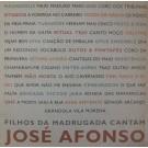 CANTAM JOSÉ AFONSO