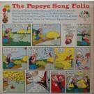 THE POPEYE SONG FOLIO