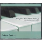 SERGEI RACHMANINOFF - COMPLETE WORKS FOR SOLO PIANO (VOL.I)